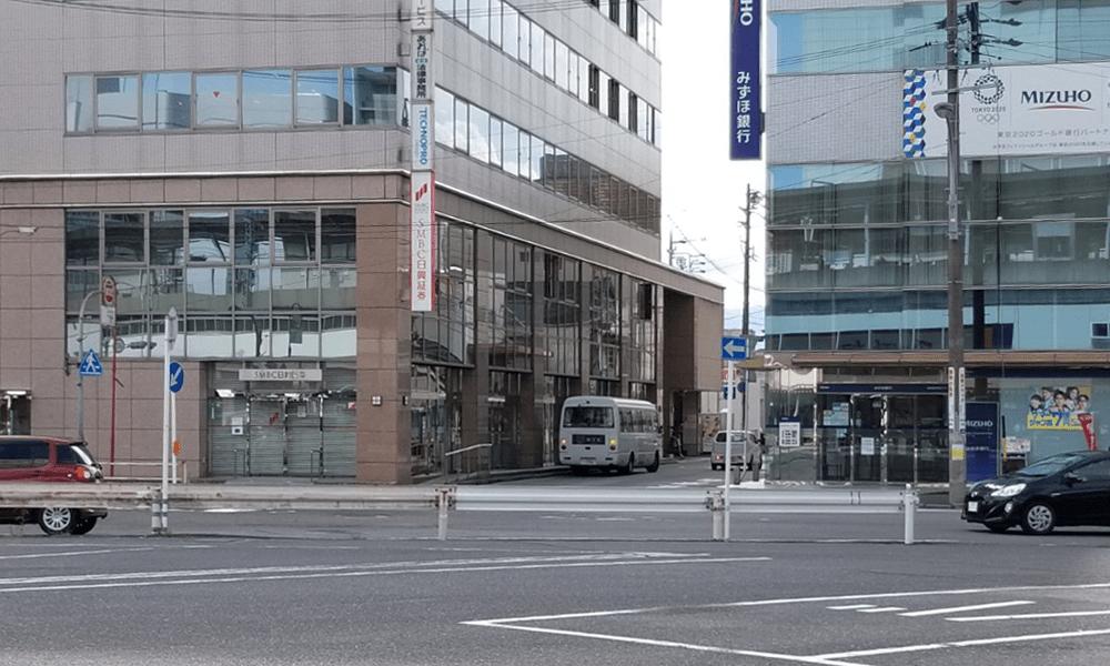 四日市駅シャトルバス停留所