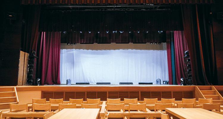 A席からの舞台の見え方