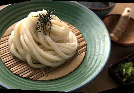 Zaru udon noodles